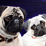 """pugs"" by CarolNesbitt"