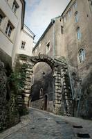 The gate to the Old City. Luxembourg
