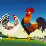 """Country Chickens"" by delRio"