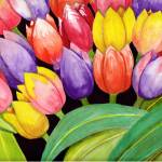 """Tulips on the Side"" by Christella"