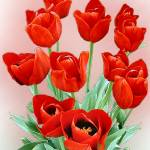 """Tulips-Red #2"" by markwhitesell"