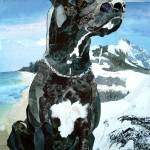"""Great Dane"" by marjoriepesekfineart"