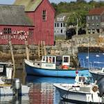 """Motif #1, Rockport MA harbour"" by sphraner"