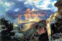 A Miracle of Nature (1913) by Thomas Moran