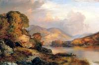 Autumn Landscape (1867) by Thomas Moran