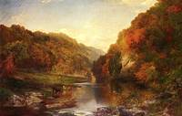 Autumn on the Wissahickon (1864) by Thomas Moran