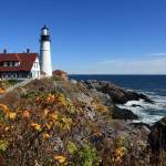 """Portland Head Lighthouse in the Fall"" by FordLou"