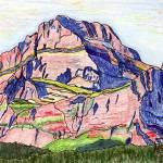 """""""Mt. Gould, Glacier"""" by ChristopherMcKellar"""