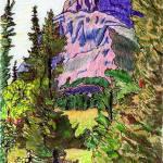 """Grinnell Point, Glacier"" by ChristopherMcKellar"