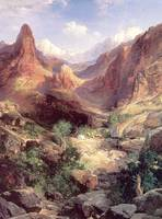 Bright Angel Trail (1904) by Thomas Moran