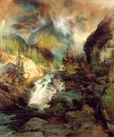 Children of the Mountain (1867) by Thomas Moran