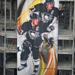 """Pittsburgh Penguins Banner"" by BlushingCowStudios"