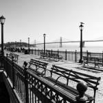 """Pier 7 Monochrome"" by PadgettGallery"