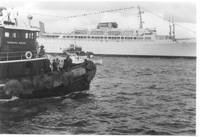 Tug and Oceanliner