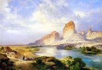 Green River, Wyoming (1907) by Thomas Moran