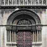 """Door of church St Pierre"" by Aleksandria"
