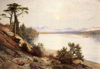 Head of the Yellowstone River by Thomas Moran