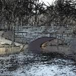 """New England Stonework"" by EdgewaterGallery"