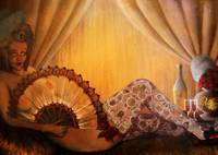 Marie Antoinette oil on canvas (30x60cm) 2007