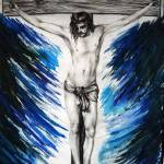 """Jesus Christ on the holy cross"" by Artclub"