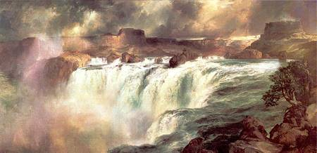 Shoshone Falls on the Snake River (1900) by Moran