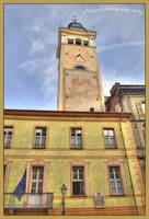old tower in Cuneo-hdr