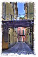 Street in Cuneo-italy