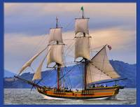 Lady Washington. San Francisco Bay, California
