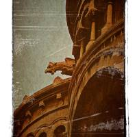 Gargoyle, Montmartre Basilica Art Prints & Posters by lise912
