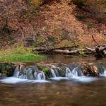"""Autumn Stream Panorama"" by dkocherhans"