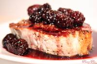 blackberry porkchops