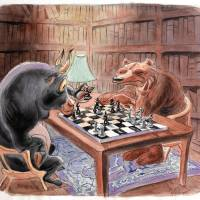"""chess"" by VaccaroPrints"