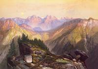 The Lower Yellowstone Range by Thomas Moran