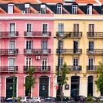 """""""Colorful Apartment Graphic- Bilbao, Spain"""" by mjphoto-graphics"""