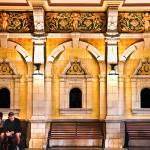 """""""Yellow  Gold Train Station, Dunedin, New Zealand"""" by mjphoto-graphics"""