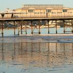 """paignton beach and Pier"" by sabre1957"