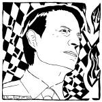 """An Inconvenient Maze: Al Gore"" by mazes"