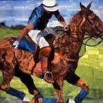 """Polo"" by marjoriepesekfineart"