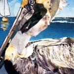 """Pelican"" by marjoriepesekfineart"