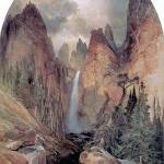 """Tower Falls (1872) by Thomas Moran"" by ArtLoversOnline"