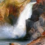 """Upper Falls, Yellowstone (1871) by Thomas Moran"" by ArtLoversOnline"