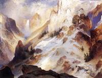 Yellowstone Canyon (1920) by Thomas Moran