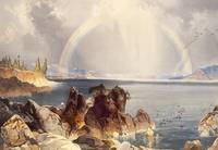 Yellowstone Lake by Thomas Moran