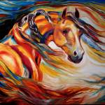 """""""THUNDER WIND"""" by MBaldwinFineArt2006"""