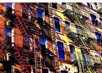 Little Italy fire escapes