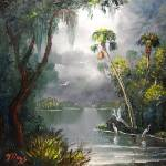 """""""Old Florida River"""" by mazz"""