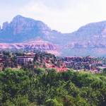 """Sedona Mountains"" by claudemarshall"