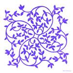 """Celtic Inspiration Purple"" by HerbDickinson"