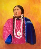 Native American Indian Lakota Sioux Maiden