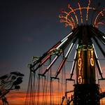 Sunset at the Fair 8.3.2006 by Notley Hawkins